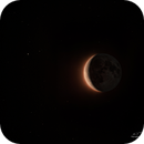 Last lunar crescent of summer,                                -Amenophis-