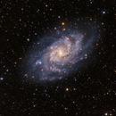 M33 Galaxy,                                Francesco Wueest