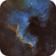 North America Nebula - SHO,                                cody7002002