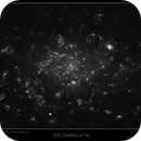 M33 Galaxy (Starless) in Ha,                                Mike Oates
