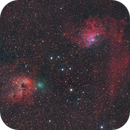 Comet C/2020 M3 (ATLAS) with IC405 and IC410,                                Scott Tucker
