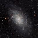 M33 Triangulum galaxy,                                Francesco