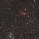 The Bubble Nebula and M52,                                Zach Coldebella