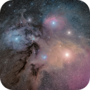 Rho Ophiuchi:  A more typical view.,                                Scotty Bishop