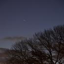 Great Conjunction of Jupiter & Saturn (12/22 - Still Close!),                                JDJ
