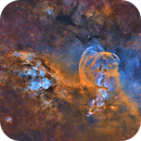 NGC 3576 and 3603 in Narrowband (SHO),                                flyingairedale