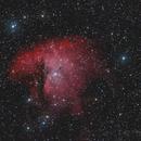 NGC281 - Pacman Nebula,                                Almos Balasi