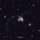 NGC 4038,                                Carl Weber