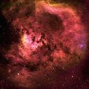 NGC 7822 - Flaming skull,                                Satwant Kumar