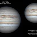 Júpiter  2020-6-29 23:28,9 UT,                                ortzemuga