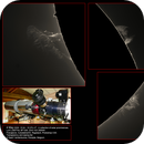 Collection of solar prominences, ASI290MM, 20200504,                                Geert Vandenbulcke