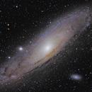 M31 Andromeda Galaxy,                                proteus5