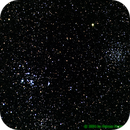 M46 Open Cluster with Planetary Nebula NGC2438 inside (right) and M47 (left),                                Mataratzis