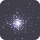 a test on m13 - 188 30 secs unguided exposures,                                Stefano Ciapetti
