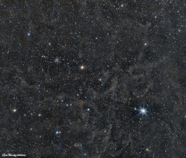 The Polaris Nebula,                                Bijan Moravej ala...