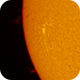 Active Region on the Sun on May 19, 2020,                                Chappel Astro