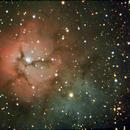 Trifid Nebula,                                Robin Clark - EAA imager