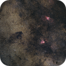 Serpens Widefield:  M16, M17 and NGC 6604,                                Gabriel Siegl