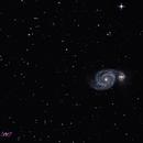 M51 Whirpool Galaxy,                                mirco caffelli