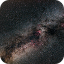 Milky way At 16mm (No Darks or Flats),                                mlewis