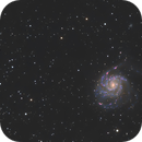 M101 Large field with small refractor 80,                                Arnaud Peel