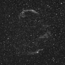 Veil nebula in Cygnus,                                apricot