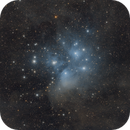 M45 Pleiades and a bit of dust,                                Mario Gromke