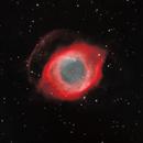 NGC 7293  Helix Nebula -- SHO Narrowband,                                Mike Mulcahy