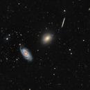 Revisiting the Draco Trio:  NGC 5981, NGC 5982, NGC 5985,                                Patrick Cosgrove
