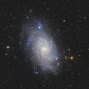 M33 - Galaxie du Triangle RVB,                                Anto