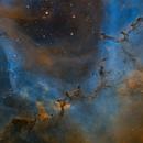 Rosette Nebula core & 'The Carnival of Animals' - bit of fun!,                                Barry Wilson