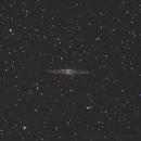 NGC 891 Crop - 17 et 19 octobre 2017,                                dsoulasphotographie