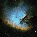 Pac-Man Nebula NGC-281 Narrowband,                                Eddie_R
