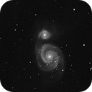 M51 in Near Infrared,                                Andreas Dietz