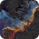 NGC 7000 North America Nebula (Cygnus Wall),                                Dhaval Brahmbhatt