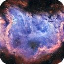 IC 1848 - Soul Nebula - RASA11 - Bortle 8 sky,                                Andrea Bergamini