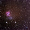 M20 - Nebulosa Trífida,                                André Lucas Melo