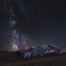 Mt. Rainier Milky Way,                                Amanda_Gilbert
