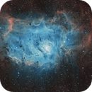 M 8 Lagoon Nebula SHO,                                Tom Peter AKA Astrovetteman