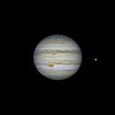Júpiter y la luna Ío,                                JacintoArtigas