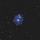 Caldwell 6 / NGC 6543 - Cats Eye Nebula - BiColor / RGB,                                Jonas Illner