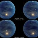 ISS a rendez-vous avec Jupiter au clair de la Lune !,                                Pouget