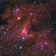 SH2-155 Cave nebula HaLRGB,                                Sergiy_Vakulenko