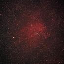 Ammasso con nebulosità (NGC6820),                                Stefano Minelli