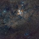 Widefield Carina Nebula,                                Dario Harari