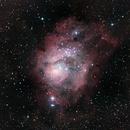 The Lagoon Nebula - M8,                                Jon M. Sales