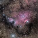 NGC 6559,                                Scotty Bishop