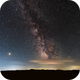 Milky Way - Voie lactée,                                Didier Walliang
