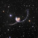 NGC 4038 & 4039 the Antenna Galaxies,                                Thomas Klemmer