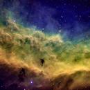 NGC1499, California Nebula 2 Panel Mosaic,                                Andrew Barton